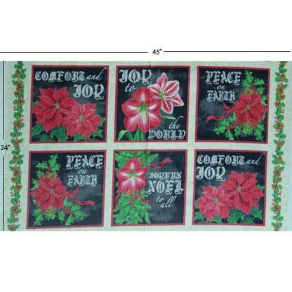 Christmas Panel 24x45