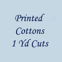 Printed Cottons 1 Yd Cuts