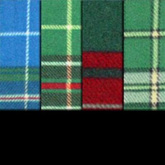 Printed Fleece Tartan Plaids (PF)