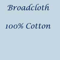 Broadcloth 100% Cotton Poplin