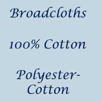 Broadcloths