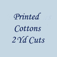 Printed Cottons 2 Yd Cuts